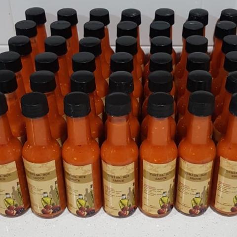 Tshisa hot sauce