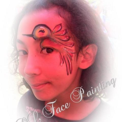LOL Face Painting